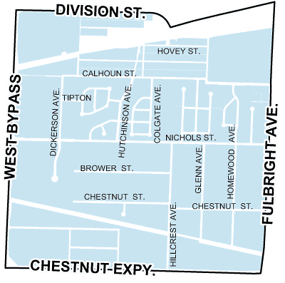 map of bissett neighborhood
