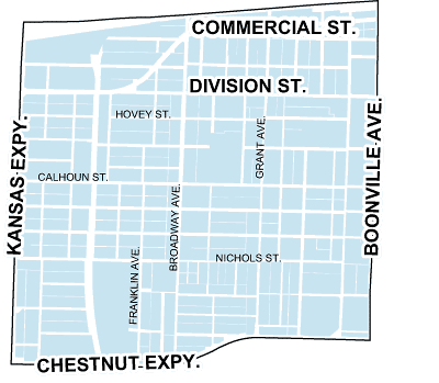 map of grant beach neighborhood