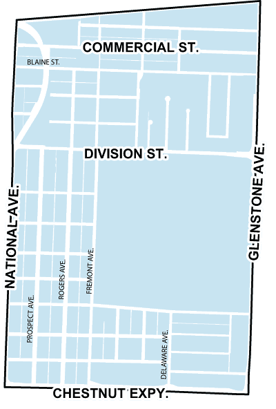 map of weller neighborhood