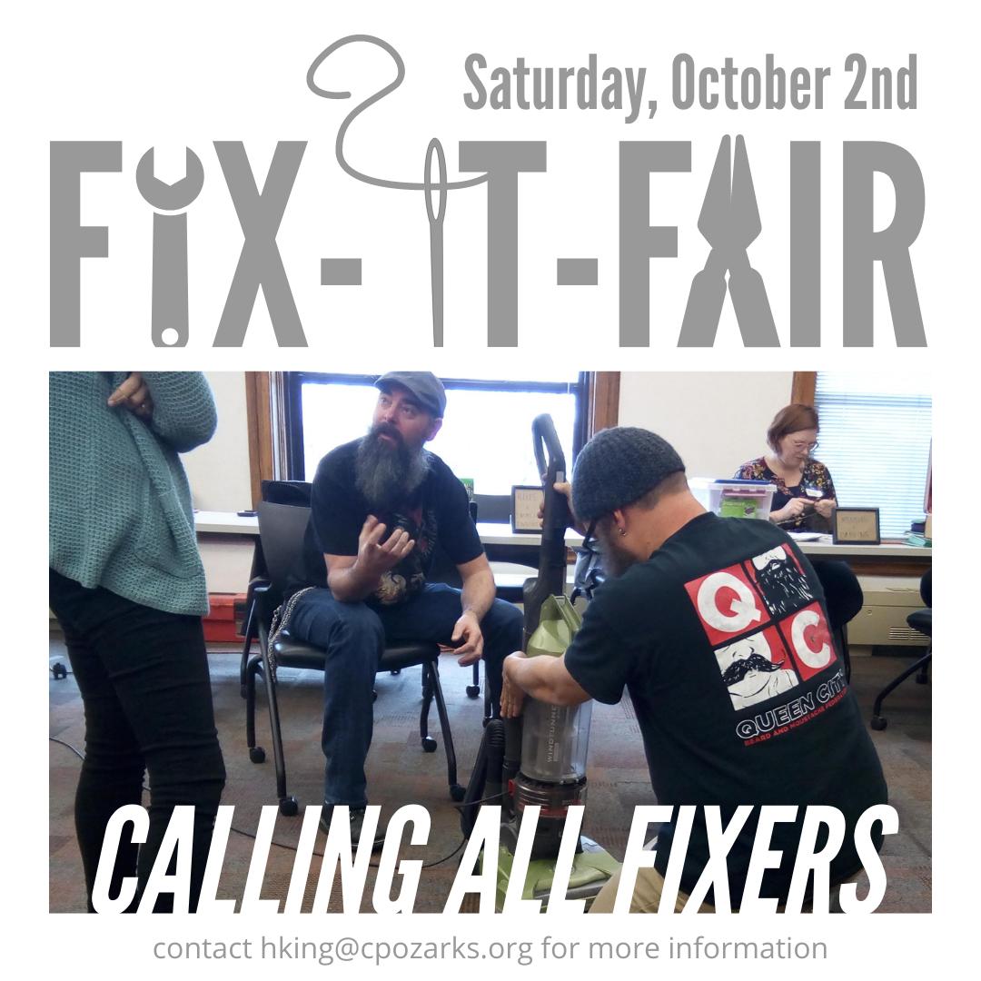 Fix-it Fair @ Midtown Carnegie Branch Library | Springfield | Missouri | United States