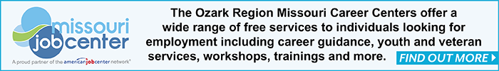 the ozark region missouri career center offers free services to people looking for jobs