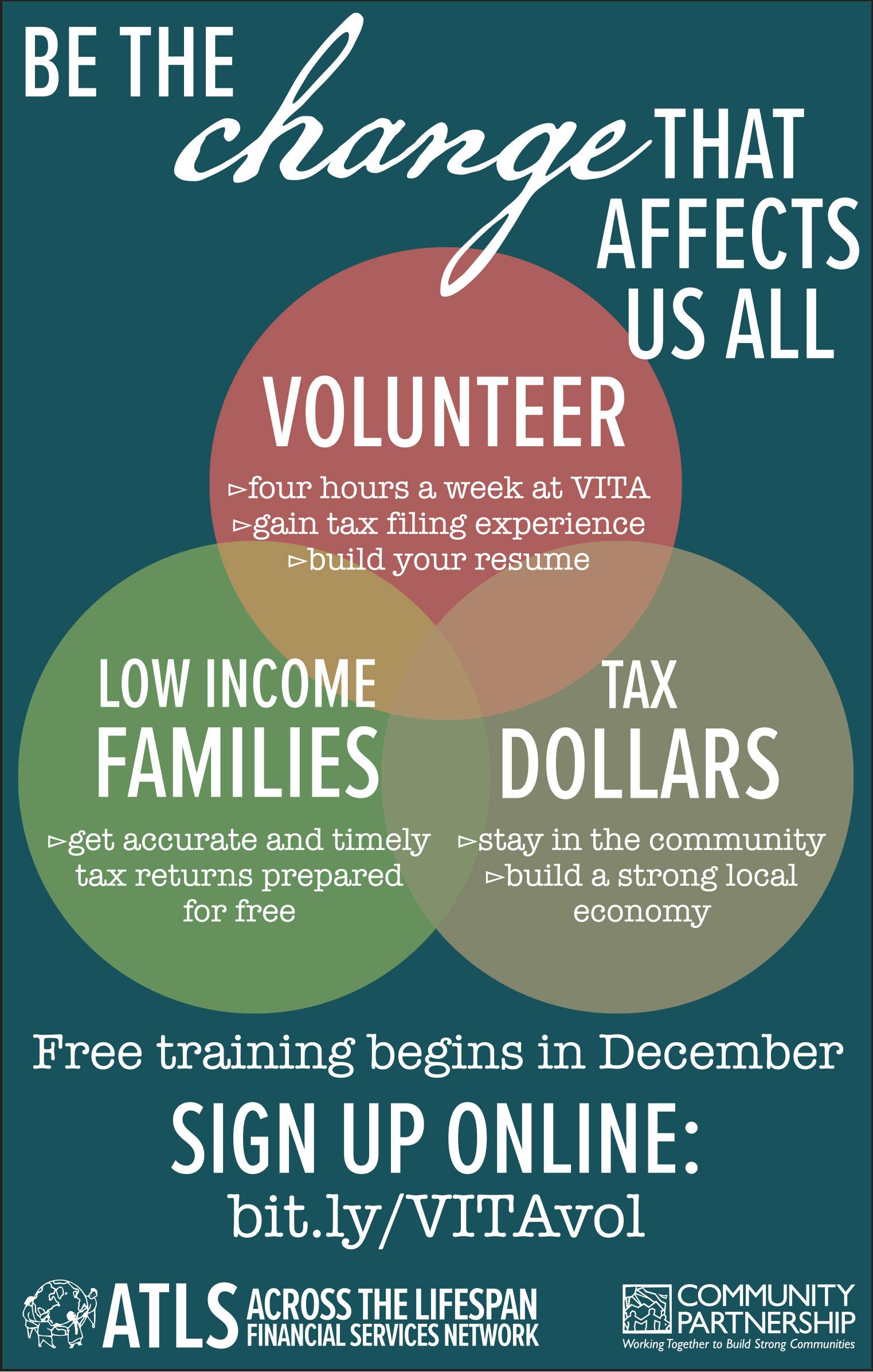 VITA training starts in December