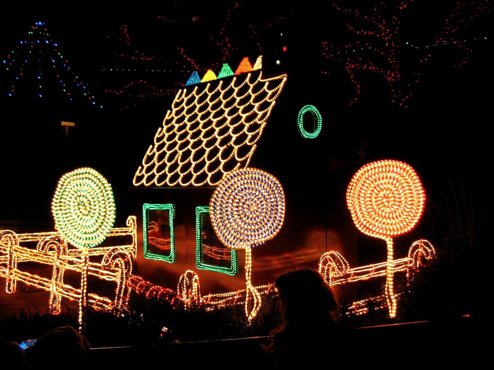 driving christmas lights tour stops - Christmas Light Tour