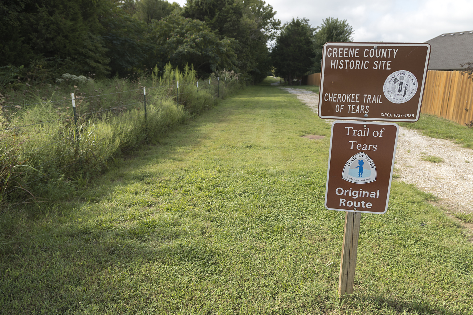 Trail of Tears greenway offers unique walkabout