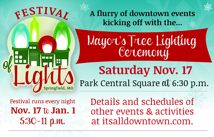 Downtown Tree Lighting @ Park Central Square