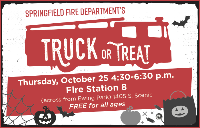 Truck or Treat @ Fire Station 8, across from Ewing Park | Springfield | Missouri | United States