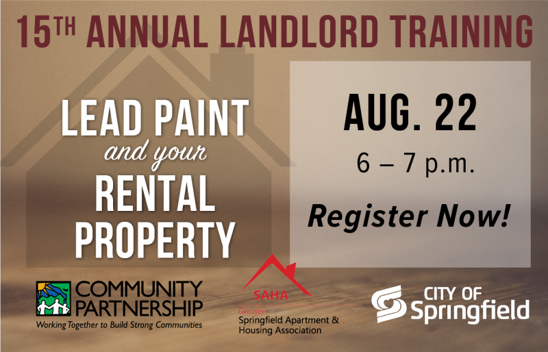 Landlord Training: Landlord Rights & Responsibilities @ Jordan Valley Community Health Center | Springfield | Missouri | United States