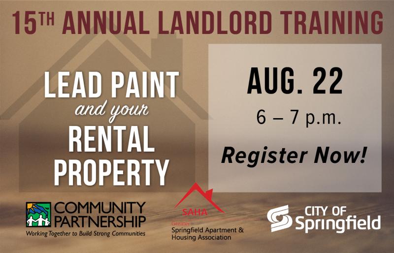 Landlord Training: Landlord Rights & Responsibilities @ Jordan Valley Community Health Center | Springfield | Missouri | United States