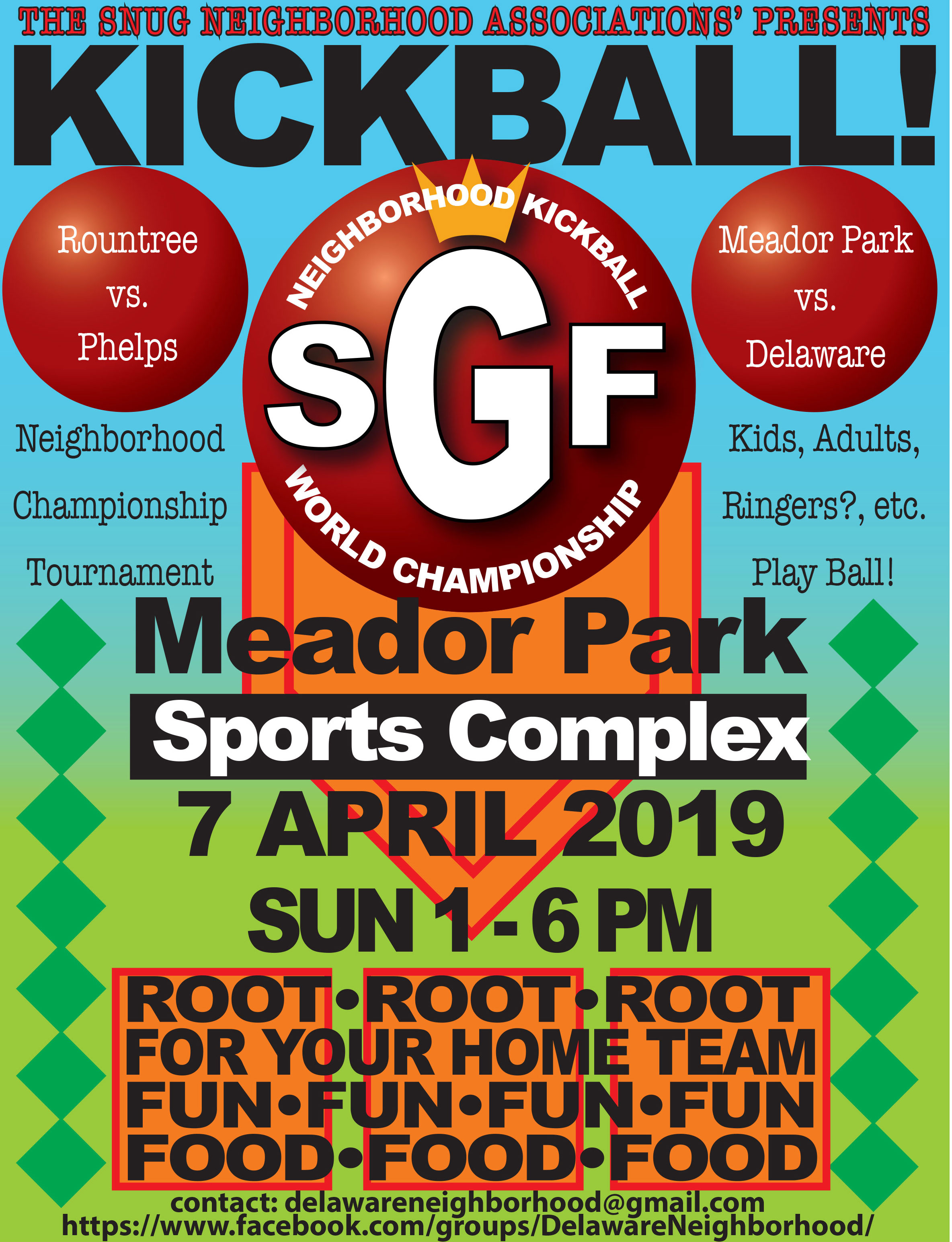 Southeast Neighborhoods Kickball Tournament @ Meador Park  | Springfield | Missouri | United States
