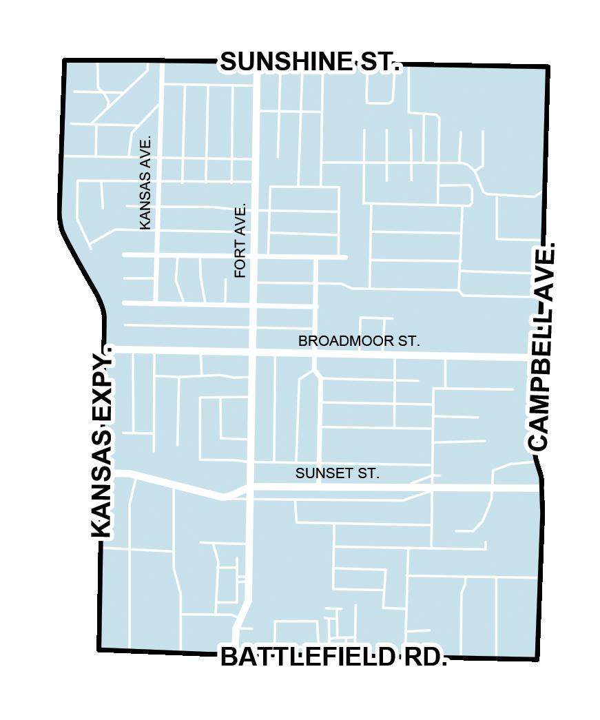map of mark twain neighborhood