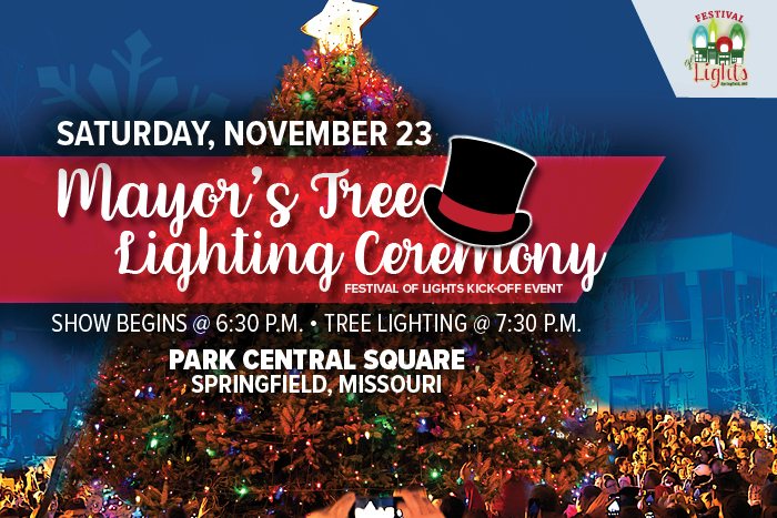 Mayor's Tree Lighting @ Park Central Square