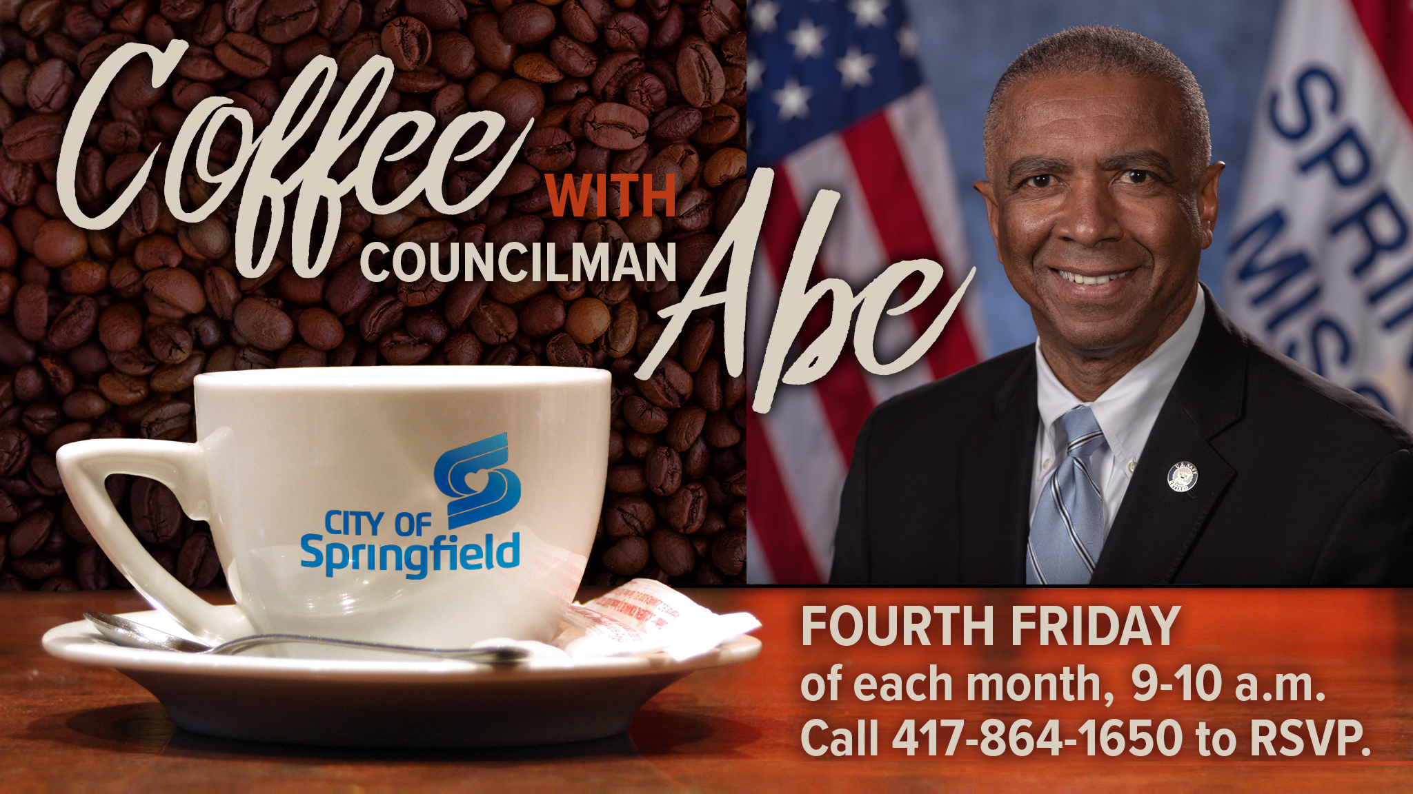 Coffee with Zone 2 Councilman Abe McGull